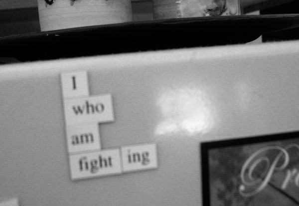 I Who Am Fighting