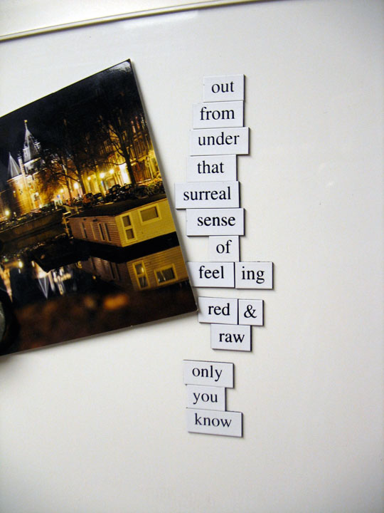 "Fridge for Thought by Andrew Kooman ""That Feeling"""